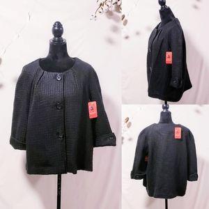 Kim Roger's Woman. Short sleeve jacket size 1X💋